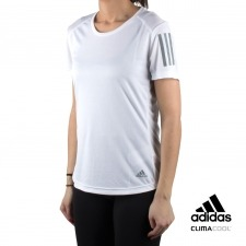 Adidas camiseta Own the Run Tee blanco mujer