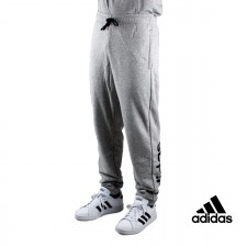 Adidas pantalón Essentials Linear Tapered Gris Hombre