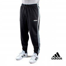 Adidas pantalón Essentials 3 Stripes Tapered Negro Hombre