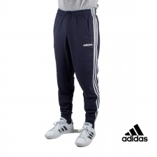 Adidas pantalón Essentials 3 Stripes Tapered Marino Hombre