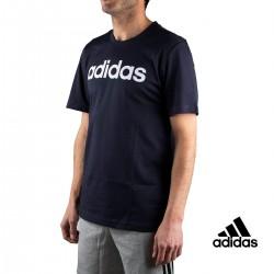 Adidas Camiseta Essentials Linear T-shirt Azul Marino Hombre
