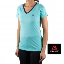 Millet camiseta LD ROC TS SS Turquesa mujer