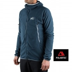 Millet chaqueta K LIGHTGRID HOODIE Marine Azul Marino Hombre