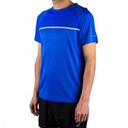 Asics Camiseta SS Top Illusion Blue Azul Hombre