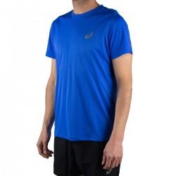 Asics Camiseta Silver SS Top Illusion Blue Azul Hombre