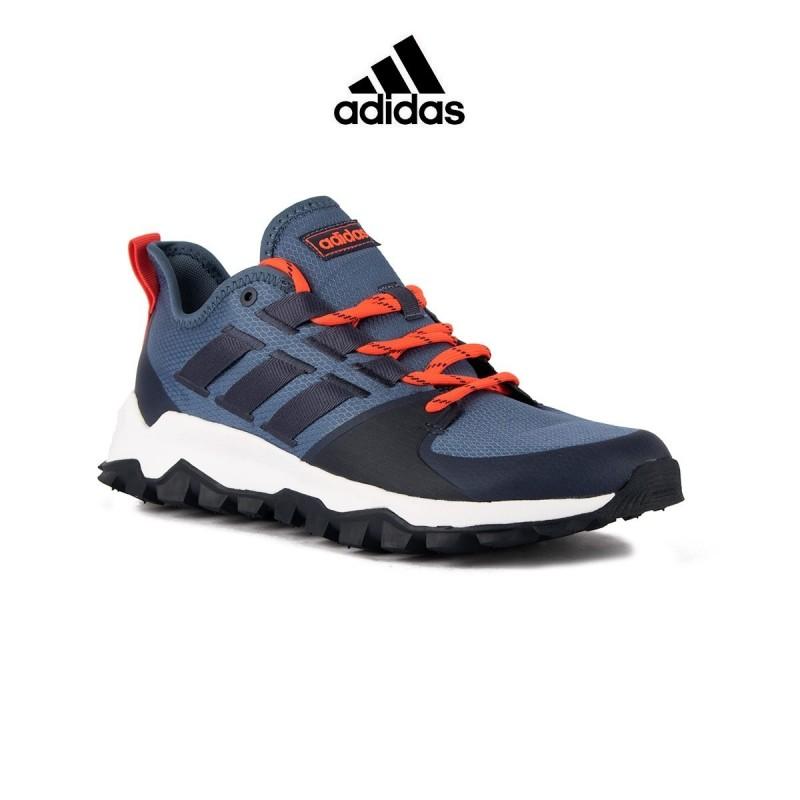 Adidas Kanadia Trail Azul Naranja Hombre