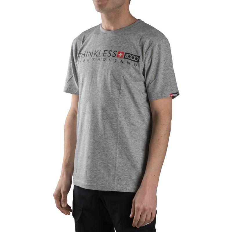 +8000 Camiseta Kubor 19V Ceniza Vigore Gris Hombre