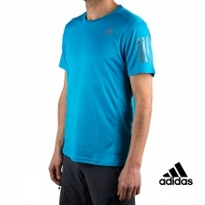 Adidas Camiseta Own the Run Tee Azul Hombre