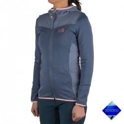 Millet chaqueta SENECA TECNO HOODIE Azul Mujer