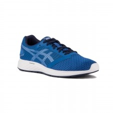 Asics Patriot 10 Imperial White Azul Hombre