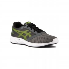 Asics Patriot 10 Steel Grey Hazard Green Gris Lima Hombre
