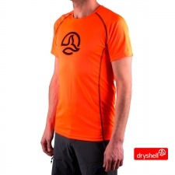 Ternua Camiseta Zenzano B Naranja Flúor Hombre
