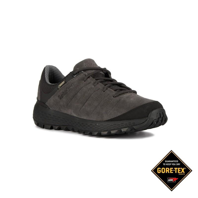 Timberland Zapatilla Parker Ridge GTX Low Hiker Dark Grey Suede Gris Hombre