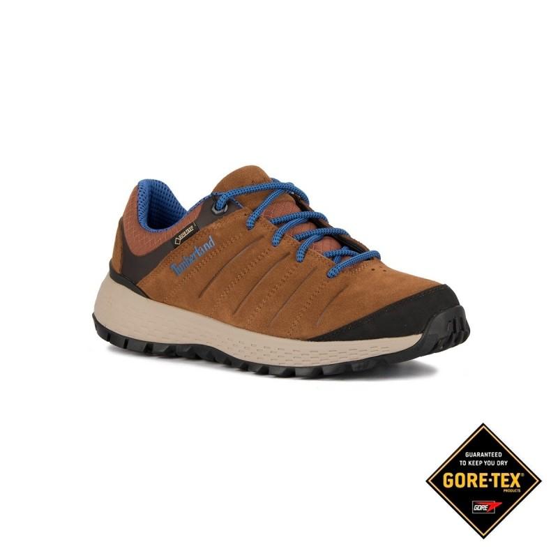Timberland Zapatilla Parker Ridge GTX Low Hiker Medium Brown Suede Marrón Hombre