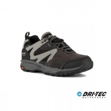 Hi-Tec Zapatilla Razor Low WP Charcoal Black Cool Grey Gris Hombre