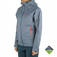 Millet LD FITZ ROY 2.5L II JKT Impermeable Cortavientos Azul Coral Mujer