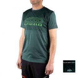 +8000 Camiseta Aquari 19V Verde oscuro vigore Hombre