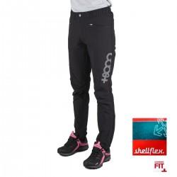 +8000 Pantalón Tricora 19V Negro Tejido Bicolor Mujer