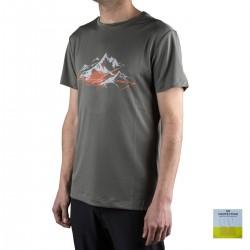 Millet camiseta Rock Stones TS SS Castle Grey Gris hombre