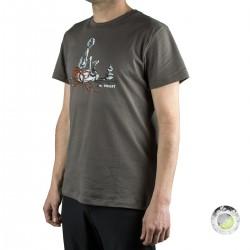 Millet camiseta Hiker TS SS Castle Grey Gris hombre