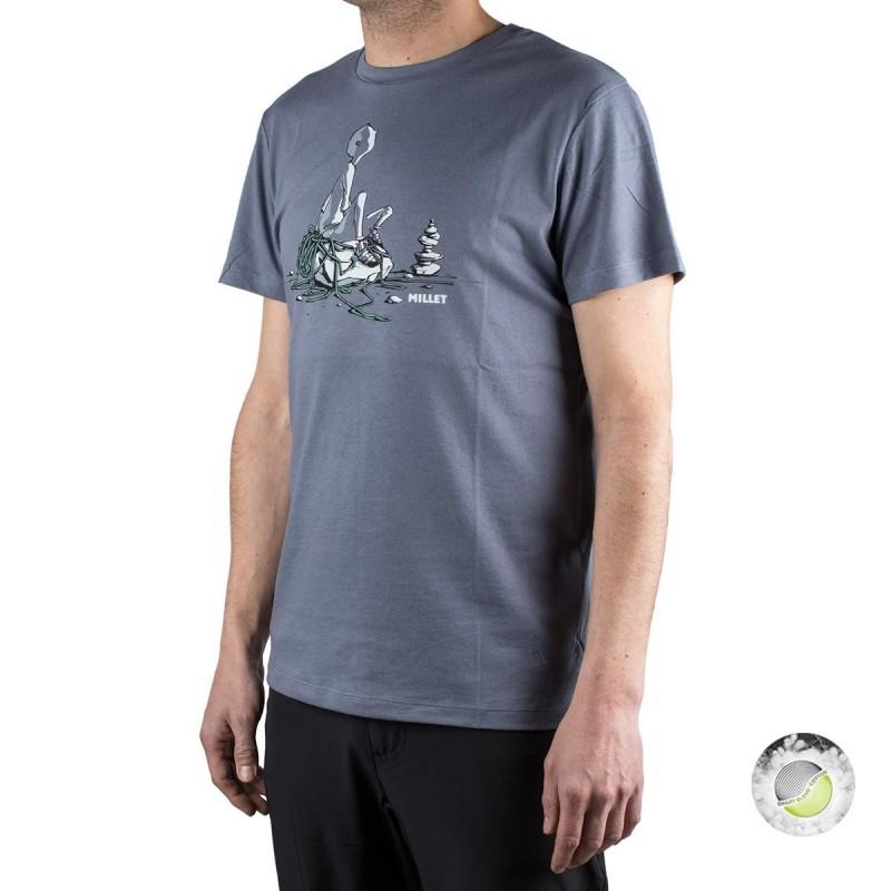 Millet camiseta Hiker TS SS Flint Piedra hombre