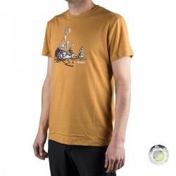 Millet camiseta Hiker TS SS Honey Mustard Mostaza hombre