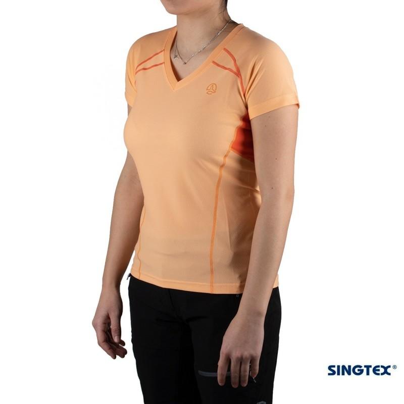 Ternua Camiseta Kanpu A Naranja Mujer