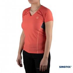 Ternua Camiseta Kanpu C Coral Mujer