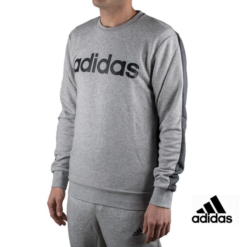 6d4f03c90c0c5 Adidas sudadera E CB Crew FT Grey Gris hombre