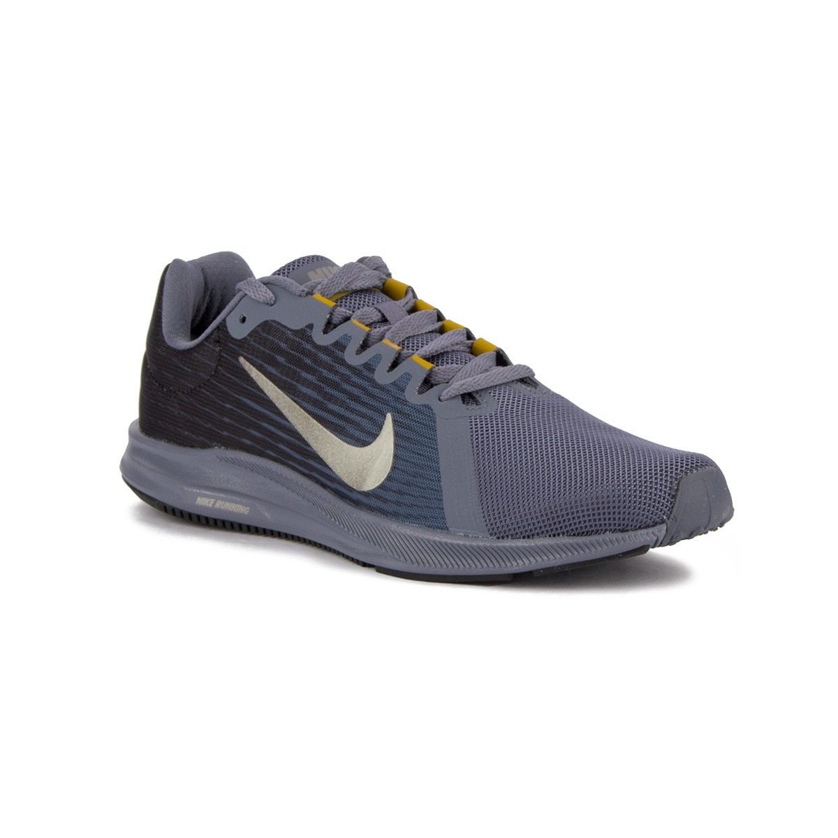 Nike Zapatillas Downshifter 8 Light Carbon Mtlc Pewter Hombre