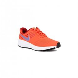 Nike Star Runner GS Bright Crismon Coral Fluor Niño