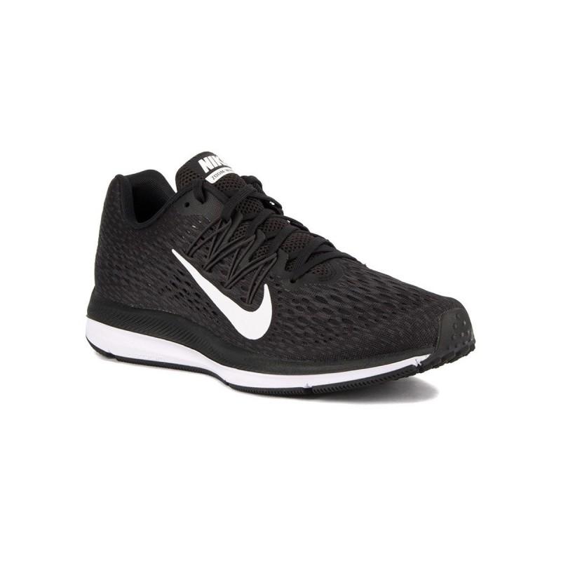 Nike Zapatillas Zoom Winflo 5 Black White Negro Hombre