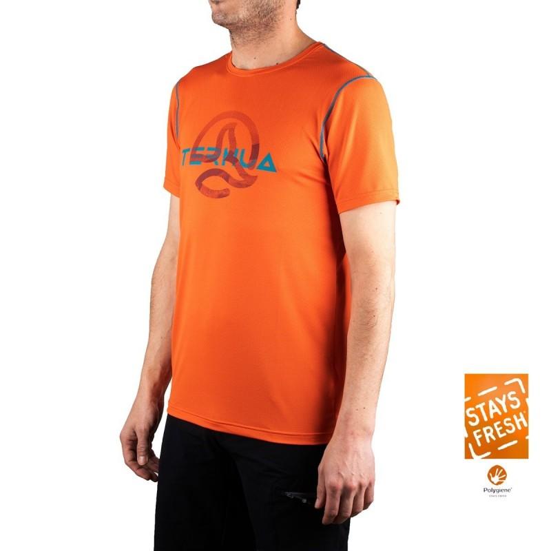 Ternua Camiseta Cofin A Naranja Hombre