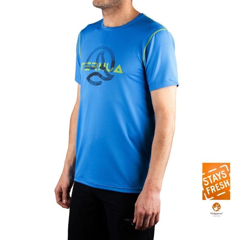 Ternua Camiseta Cofin B Azul Hombre