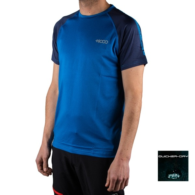 +8000 Camiseta Aslyn 19V Azul Real Vigore Hombre