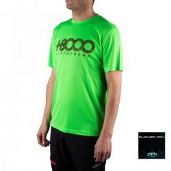 +8000 Camiseta Walk 19V Verde Fluor Hombre
