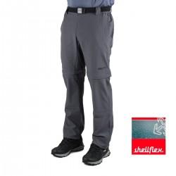 +8000 Pantalón Desmontable Torrebarrio 19V Antracita Hombre