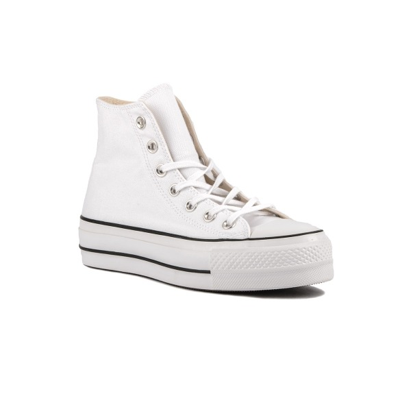 Converse Botín Chuck Taylor All Star Lift High Top Plataforma White Blanco Mujer