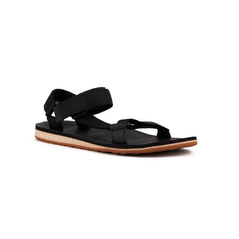 Teva Sandalia M Original Universal Premium Leather Black Negro Hombre