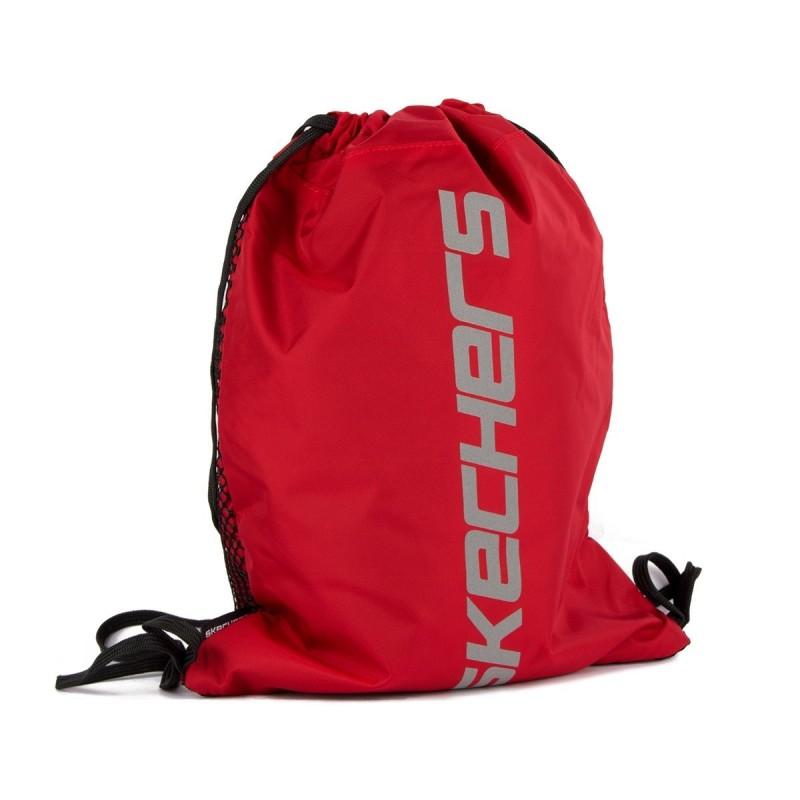 Skechers Mochila Saco String Bag Ferry Red Rojo