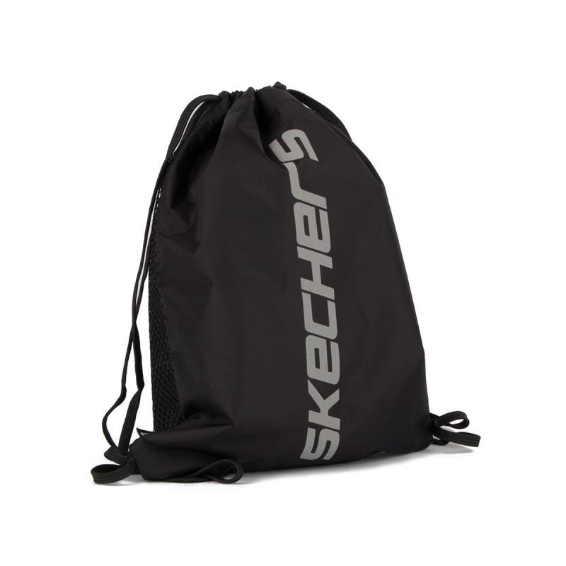 Skechers Mochila Saco String Bag Black Negro