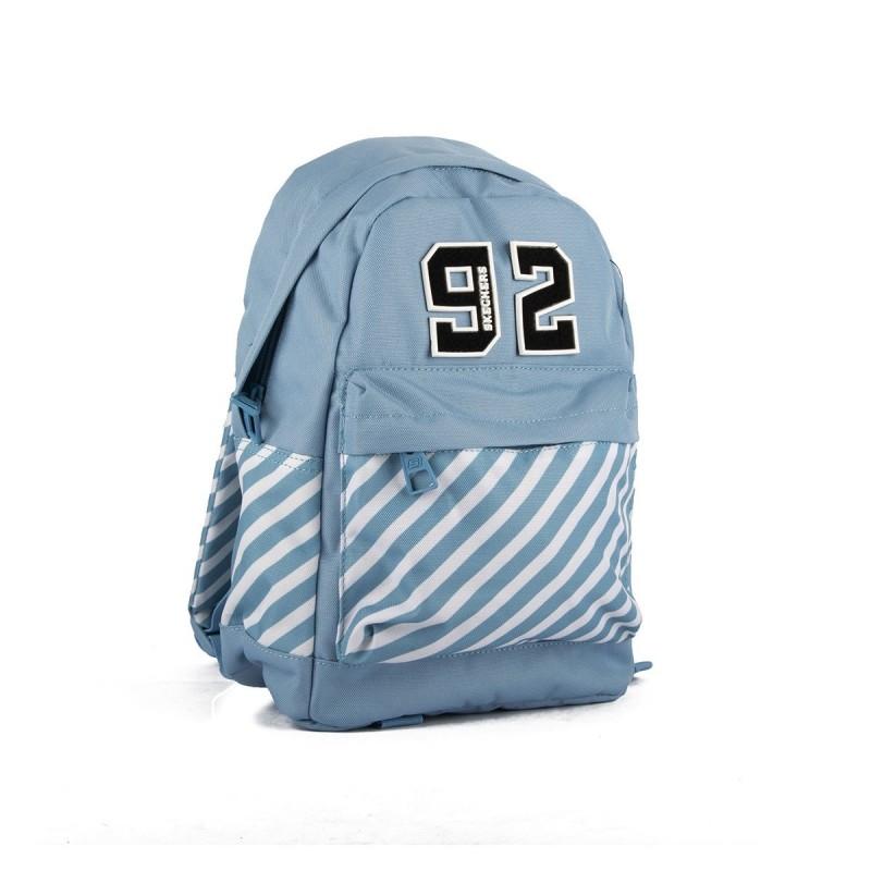 Skechers Mini Mochila Street Small Backpack Placid Blue Azul Niño