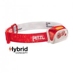 Petzl Frontal Actik Core 350 Rojo