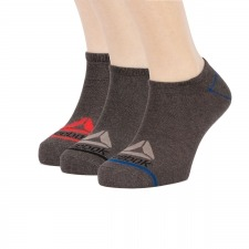 Reebok Calcetines Essentials Training Inside Socks Gris Charcoal Heather Gris (pack 3 pares)