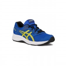 Asics Gel Contend 5 GS Illusion Blue Lemon Spark Azul Amarillo para Niño