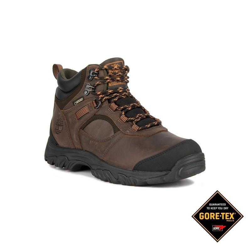 Timberland Bota Mt Major Mid Hiker GTX Brown Full Grail Marrón Piel Hombre