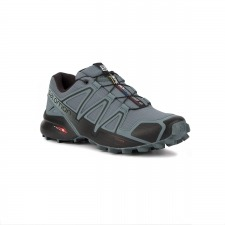 Salomon Zapatilla Speedcross 4 Stormy Weather Black Gris Hombre