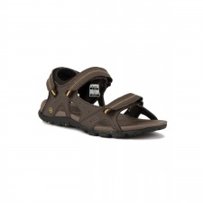 Hi-Tec Sandalia Terreno Strap Dark Chocolate Dark Taupe Golden Palm Hombre