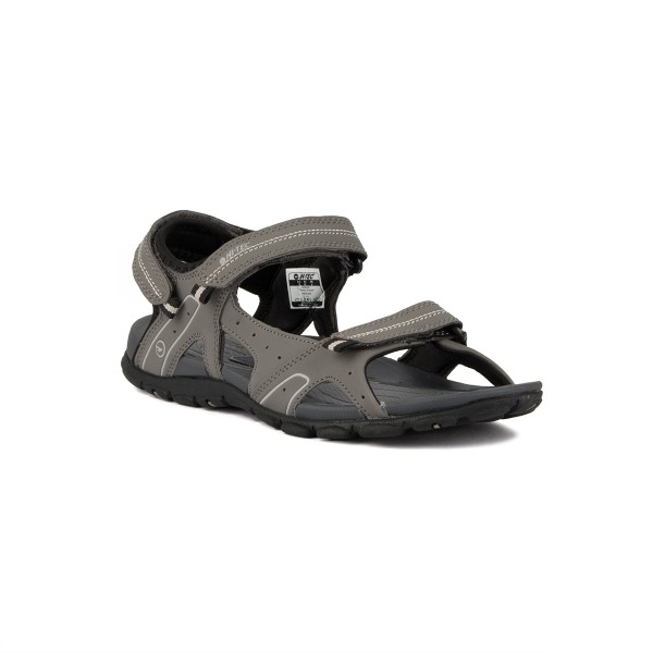 Hi-Tec Sandalia Terreno Charcoal Steel Grey Cool Grey Hombre