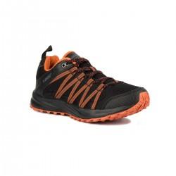 Hi-Tec Zapatilla Sensor Trail Lite Black Cinnamon Negro Naranja Hombre